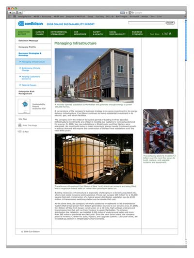 Con Edison Online EH&S Report
