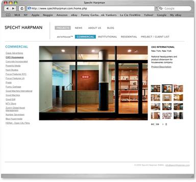 Specht Harpman Website