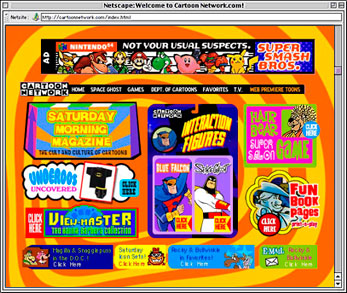 Cartoon Network Website