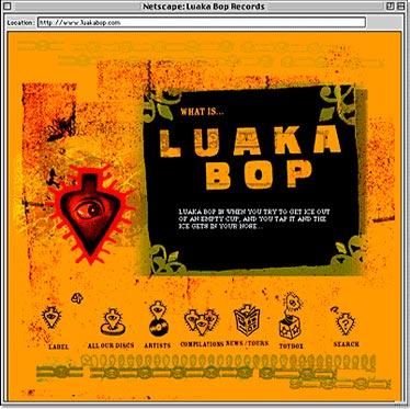 Luaka Bop Website